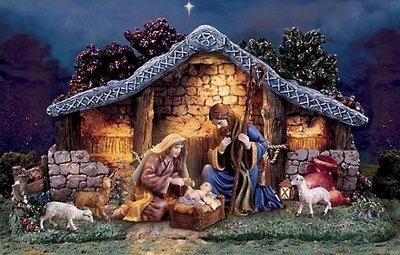 Рождественский вертеп - сценка рождения Христа