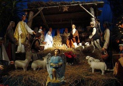 Рождественский вертеп, сделанный своими руками