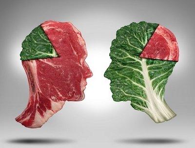 Если «мы то, что мы едим», значит вегетарианцы овощи