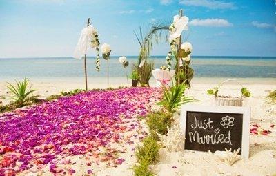 Свадьба на пляже и ее варианты
