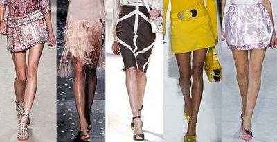 Современные и этнические юбки от Valentino