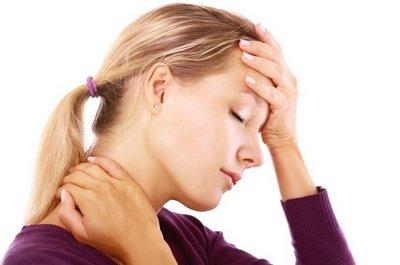 Головные боли в затылке связаны с перенапряжением мышц шеи