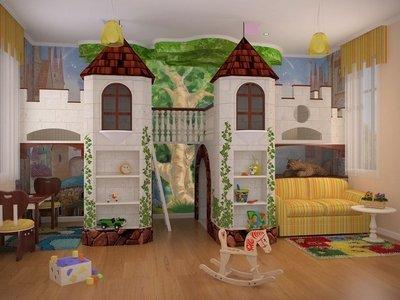 Оформление детской комнаты для мальчиков и девочек