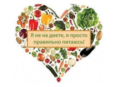 Правильное питание: основные рекомендации