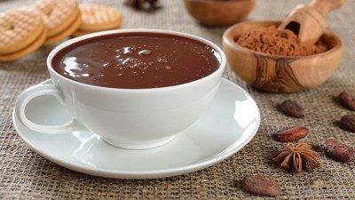 Ciocolatto caldo - итальянский горячий шоколад с двойной порцией ингредиентов