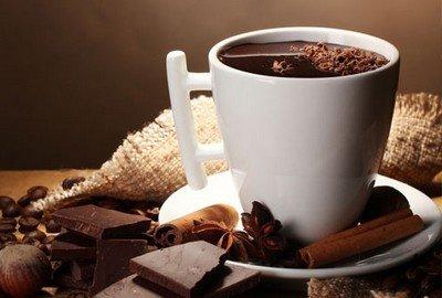 Горячий шоколад - напиток осени