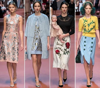 Dolce & Gabbana - тренд нацеленный на материнство