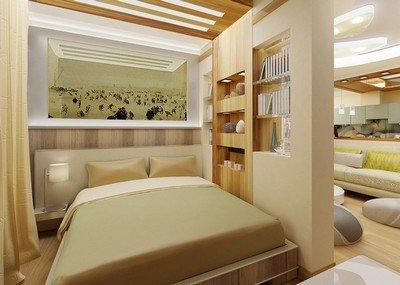Зонирование жилых помещений - способ создания индивидуального пространства