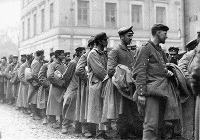Изоляционно-пропускной пункт для военнопленных во времена Второй мировой войны