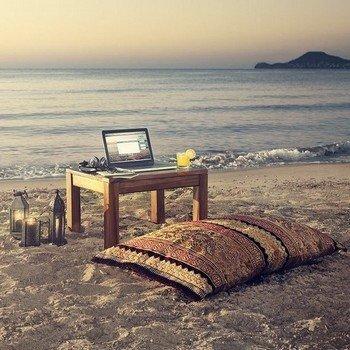 Выбор места на пляже