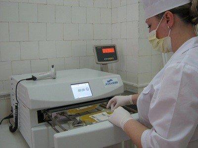 Отмывание (деглицеринизация) эритроцитов от ограждающих растворов