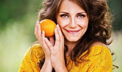 Витамин С против морщин на лице