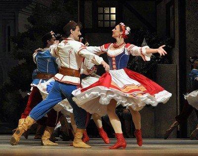 Характерный танец - академическая форма народно-сценического танца
