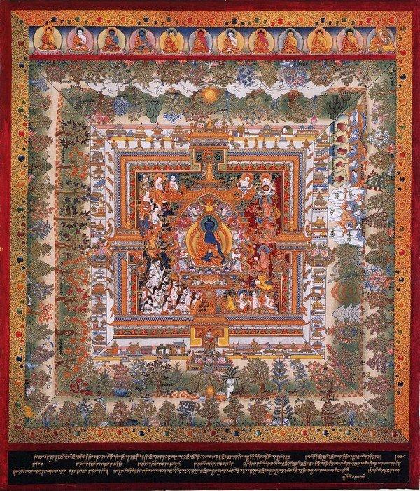 Атлас древней тибетской медицины