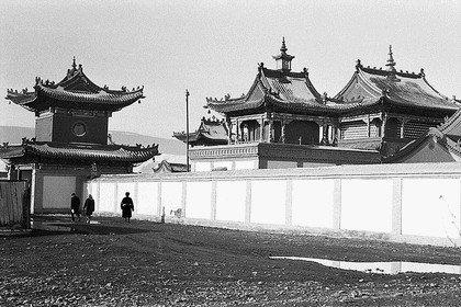 Храм в монгольском городе Урге