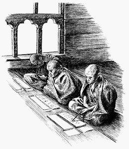 Обучение монгольских врачей в тибетском монастыре