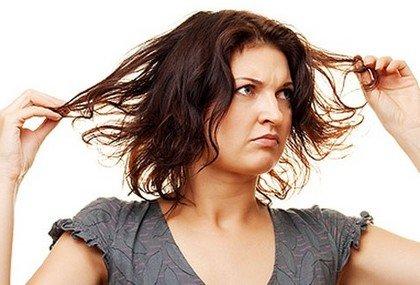 Как избавиться от засаленности волос