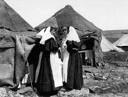 Отряд «Красного Креста» в Монголии