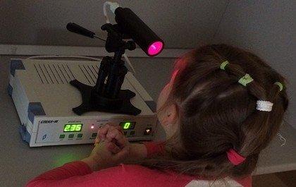 Устройство для лечения амблиопии по методу Аветисова