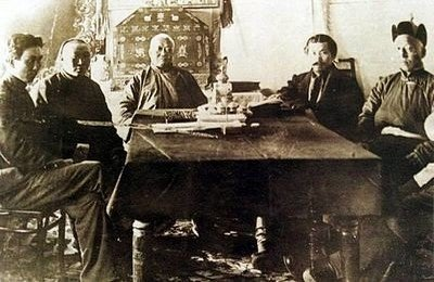 Создание конституции Монголии