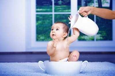 Закаливание детей водой