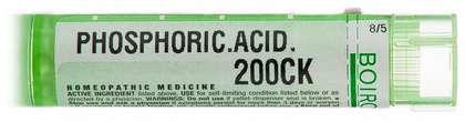 Гомеопатия «Acidum phosphoricum»