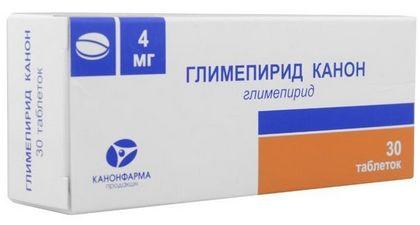 Глимепирид - препарат сульфонилмочевины