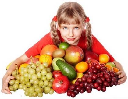 Растительные плоды для детей