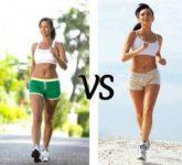 Что выбрать для похудения: ходьбу или бег?