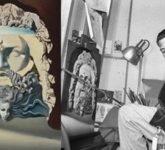 Сальвадор Дали работает над мультфильмом «Дестино»
