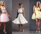 Короткое выпускное платье 2012